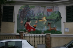 Murales-rebus a Marentino