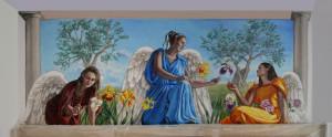 murales, insieme